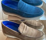 100% leather loafers size 42 MADE IN TURKEY