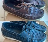 BOAT SHOES size 42 100% leather