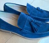 LEATHER LOAFERS WITH TASSLE size 42