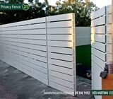 WPC Fence Suppliers in Abu Dhabi   Composite Wood Fence in UAE   WPC Privacy Fence