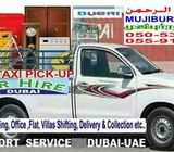 HIRE PICKUP 1 TON  SMALL & 3 TON BIG TRUCK TRANSPORT SHIFTING DELIVERY COLLECTION  SERVICE, DUBAI