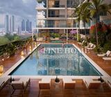 One-Bedroom Apartment/Facing Pool/Balcony