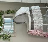 Bassinet - grey from baby shop