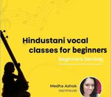HINDUSTANI VOCAL CLASSES (ONLINE)