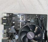 RYZEN 7 2700, ASUS B450, AMD AIR COOLER AND HYPER X FURY 3200 MHZ RAM!!!!
