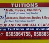 IGCSE & AS & A level tuition s for all Core subjects