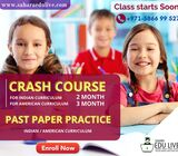 Crash Course  American curriculum / Indian curriculum Get your 1 year syllabus completed in 2 months