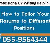 Resume Writing Services in Dubai