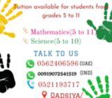 Online math class