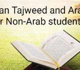 Quran Tajweed(Recitation) and Arabic for Non Arabs offered by female teacher