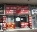RUNNING CAFETERIA FOR SALE