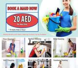 Nannies, Maid, Cleaners, Deep Cleaning, 20 AED, for booking please call/ whatsapp 050-750 6312