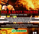 NFPA APPROVED CFPS TRAINING