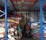 curtain & sofa fabrics stock sale