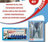 Ruby Movers & Packages Services in Dubai