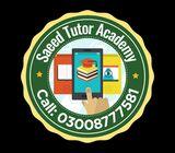 Home Tutor Provider In Karachi   Saeed Tutors Academy - Call 03008777581