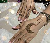 Gulf henna artist at your door step