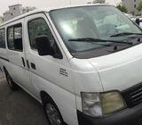 2006 Nissan Urvan Passenger Van,GCC  c