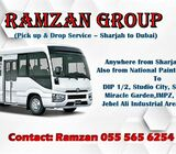 Carlift from Sharjah to DIP