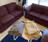 IKEA 2-seater sofa (EKTORP)