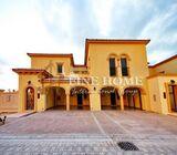 Corner Villa With Huge landscaped Garden in Saadiyat Beach