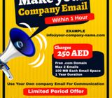 Make Your Own Company Email