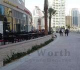 UNFURNISHED SHOP | ON MARINA WALK! | DUBAI MARINA