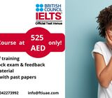 IELTS Training at 525 AED only !