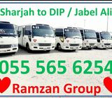 SHARJAH TO D.I.P / IMPZ / MOTOR CITY / JVC
