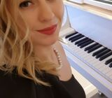 Piano, violin, music theory lessons