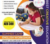 0526005392//SUMMER CAMP ENGLISH WORKSHOP FOR KIDS IN AJMAN