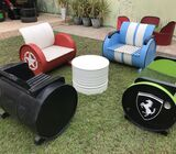 Drum Furniture for Garden / Outdoor