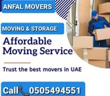 ANFAL MOVERS AND PACKER 0505494551