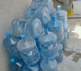 Empty water bottles for sale
