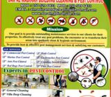 Pest Control, Cleaning and Disinfection service