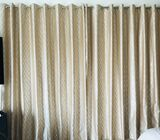 Brand new Light gold curtains Black out