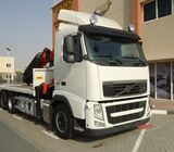 VOLVO FH 440 6X2 2013 TRUCK WITH CRANE