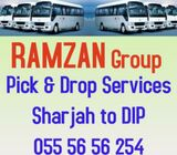 Car Lift - Sharjah to DIP, IMPZ, JABEL ALI, Motor City 055 56 56 254