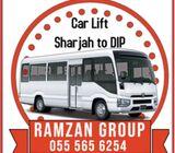 CAR LIFT, PICK AND DROP SHARJAH TO DIP 055 56 56 254 - CAR LIFT
