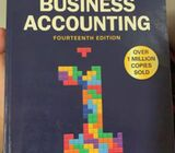 BUSINESS ACCOUNTING 14TH ADDITION AND CAMBRIDGE IGCSE AND O LEVEL ECONOMICS 2ND ADDITION