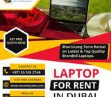 Long Term & Short Term Laptop Rental across the UAE