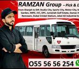 Car Lift - Services from Sharjah to Dubai, DIP, Expo 2020 Metro, JVC, IMPZ, Studio city, Motor City,