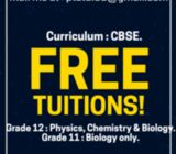FREE TUITIONS!