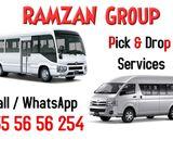 Sharjah to DIP, Al Quoz, DIC IMPZ, Miracle garden, Studio city, Motor City, Expo 2020 Metro, JABEL A