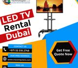 Impressive Range of LED TV Hire Solutions in Dubai