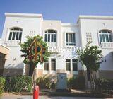 Single Row Villa With Park view in Al Ghadeer