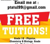 TUITIONS FOR FREE!